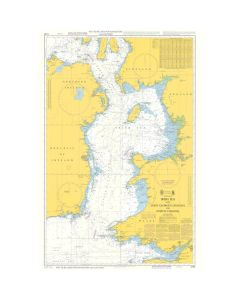 ADMIRALTY Chart 5130: Instructional Chart - Irish Sea With Saint Georges Channel And North Channel