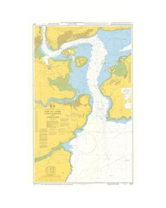 ADMIRALTY Chart 5133: Instructional Chart - Port Of Cork Lower Harbour And Approaches