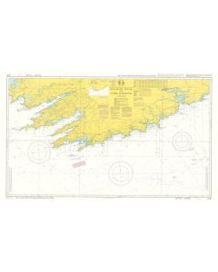 ADMIRALTY Chart 5134: Instructional Chart - Kenmare River To Cork Harbour