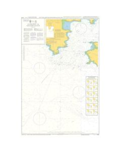 ADMIRALTY Chart 5136: Instructional Chart - Entrance To Milford Haven