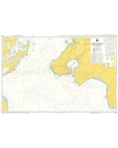 ADMIRALTY Chart 5139: Instructional Chart - Approaches To Wellington