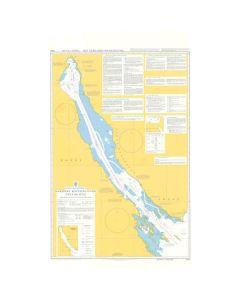 ADMIRALTY Chart 5501: Mariners Routeing Guide Gulf Of Suez