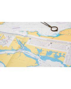 ADMIRALTY Chart 8002: Port Approach Chart Southampton