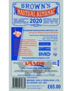 Brown's Nautical Almanac 2020