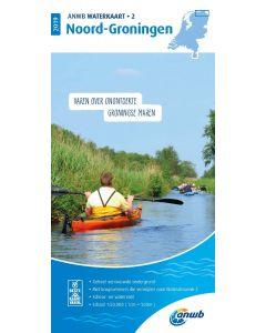 ANWB Waterkaart 2 - Noord-Groningen