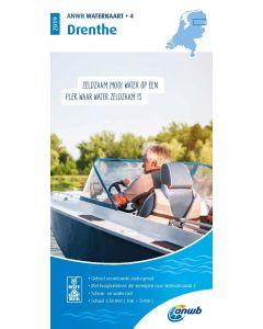 ANWB Waterkaart 4 - Drenthe