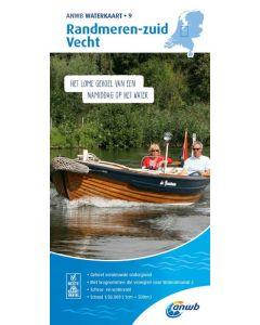 ANWB Waterkaart 9 - Randmeren-Zuid/Vech