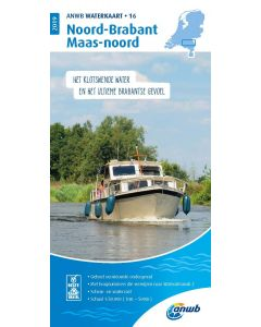 ANWB Waterkaart 16 - Noord-Brabant/Maas-Noord