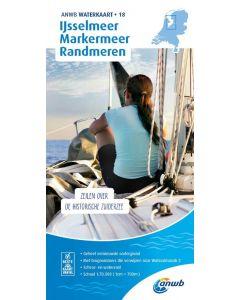 ANWB Waterkaart 18 - IJsselmeer-Markermeer/Randmeren