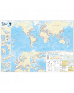 Shipping World's Map (10th Edition)