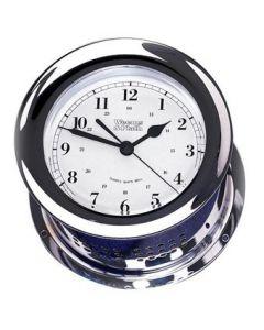 Chrome Plated Atlantis Quartz Ship's Bell Clock