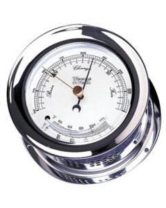 Chrome Plated Atlantis Barometer/Thermometer