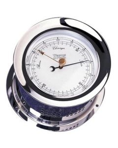 Chrome Plated Atlantis Barometer