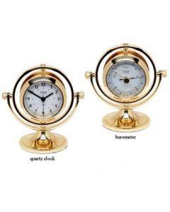 Gimbaled Skipjack Clock & Barometer