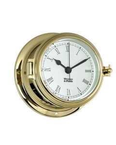 Endurance II 115 Brass Quartz Clock With Roman Numerals