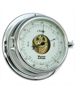 Endurance II 135 Chrome Open Dial Barometer