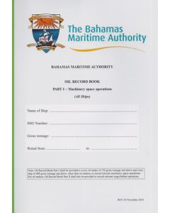 Bahamas - Oil Record Book Part 1 - All Ships