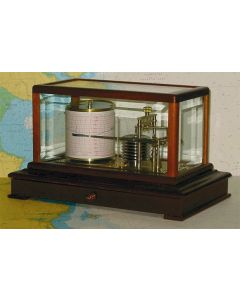 Gradko Mahogany Display Barograph