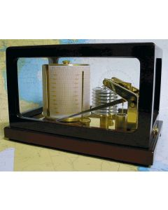 ChartCo Display Barograph Glass all Round Mahogany Case Quartz Movement Damped 2004