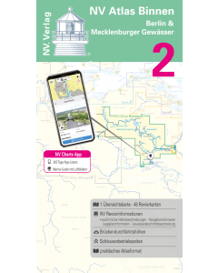 NV Atlas Binnen 2: Berlin & Mecklenburger Gewässer [PRE-ORDER]