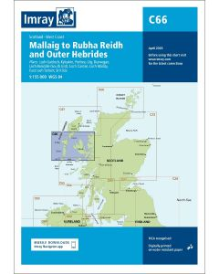 C66 Mallaig to Rudha Reidh and Outer Hebrides (Imray Chart)