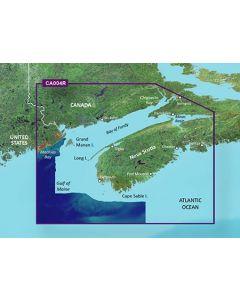 Garmin BlueChart g3 Vision - Bay of Fundy (VCA004R)