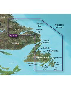 Garmin BlueChart g3 Vision - Labrador Coast (VCA013R)