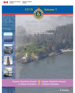 Canadian Tide & Current Tables Volume 7