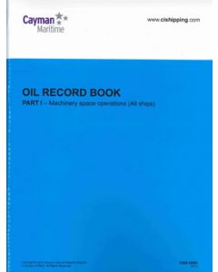 Cayman Islands Oil Record Book Part 1 (Machinery Space Operations)