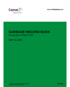 Cayman Islands Garbage Record Book Part 1