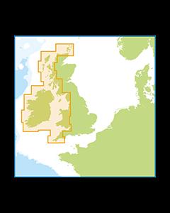 ID30 West Coast of Britain and Ireland - Meridian (Imray) Digital Chart Pack
