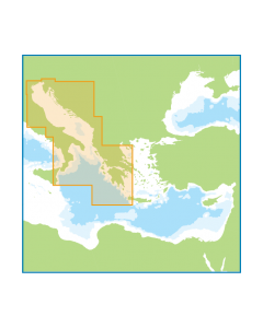 ID60 Central Mediterranean - Meridian (Imray) Digital Chart Pack