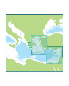 Meridian Digital Chart Pack ID70 - The Eastern Mediterranean and Aegean Seas