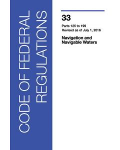 Code of Federal Regulations - Parts 125-199 (2016 Edition)