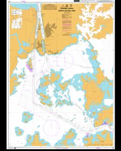 ADMIRALTY Chart CP2: Panama Canal North Gatun Lake
