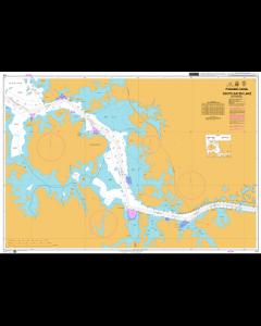 ADMIRALTY Chart CP3: Panama Canal South Gatun Lake