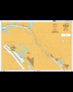 ADMIRALTY Chart CP4: Panama Canal Gaillard Cut