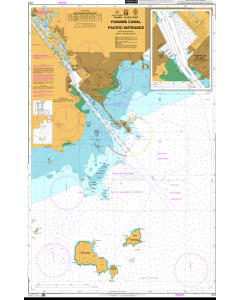 ADMIRALTY Chart CP5: Panama Canal Pacific Entrance
