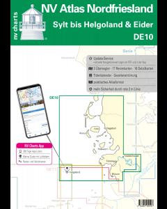 DE 10: NV Atlas Nordfriesland - Sylt bis Helgoland & Eider