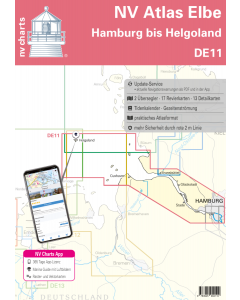 DE 11: NV Atlas Elbe - Helgoland bis Hamburg