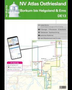 DE13: NV Atlas Ostfriesland - Borkum bis Helgoland & Ems