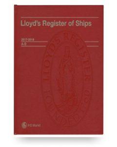 Lloyd's Register of Ships (2017-2018)