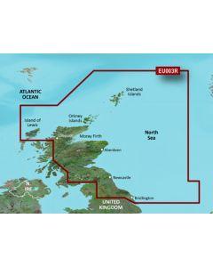 Garmin BlueChart g3 - Great Britain, Northeast Coast (HXEU003R)