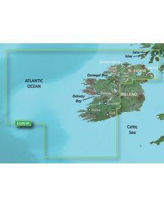 Garmin BlueChart g3 - Ireland, West Coast (HXEU005R)