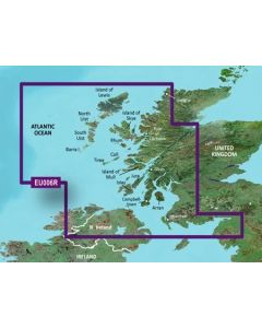 Garmin BlueChart g3 - Scotland, West Coast (HXEU006R)