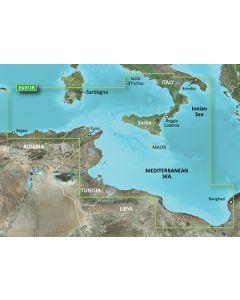 Garmin BlueChart g3 Vision - Italy Southwest & Tunisia (VEU013R)
