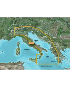 Garmin BlueChart g3 - Italy, Adriatic Sea (HXEU014R)