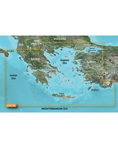 Garmin BlueChart g3 Vision - Aegean Sea & Sea of Marmara (VEU015R)