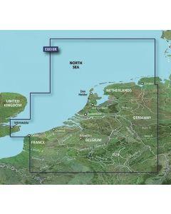 Garmin BlueChart g3 Vision - Benelux Offshore & Inland Waters (VEU018R)