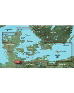 Garmin BlueChart g3 - Denmark East & Sweden Southeast (HXEU021R)